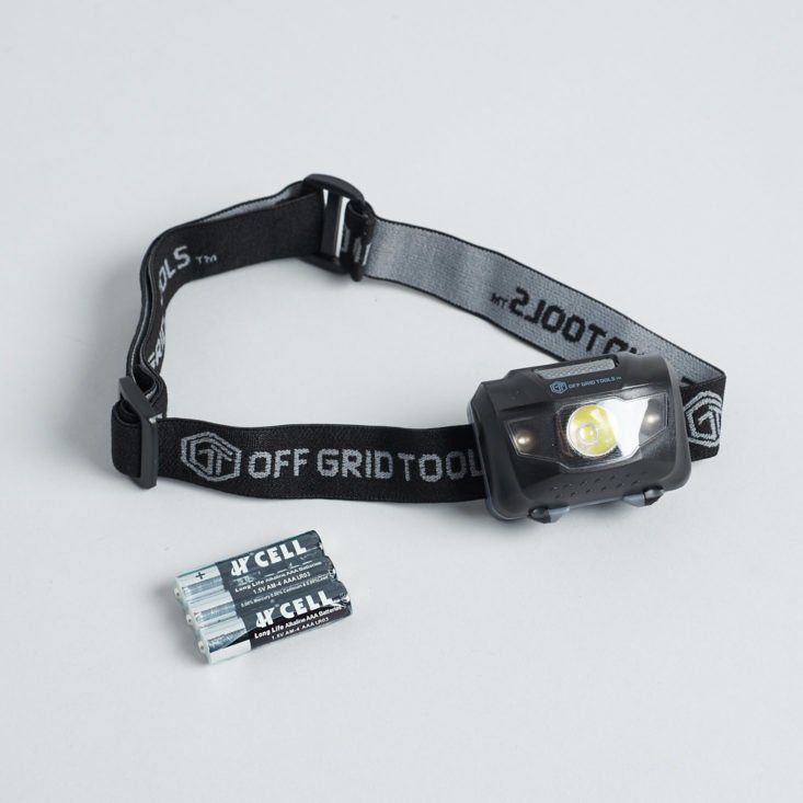 Bespoke Post Explore March 2019 headlamp