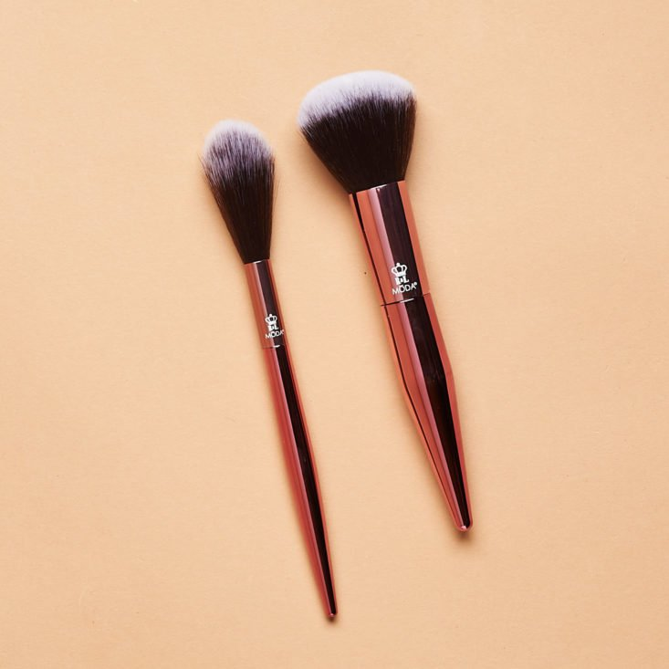 Boxy Luxe March 2019 moda brush pair