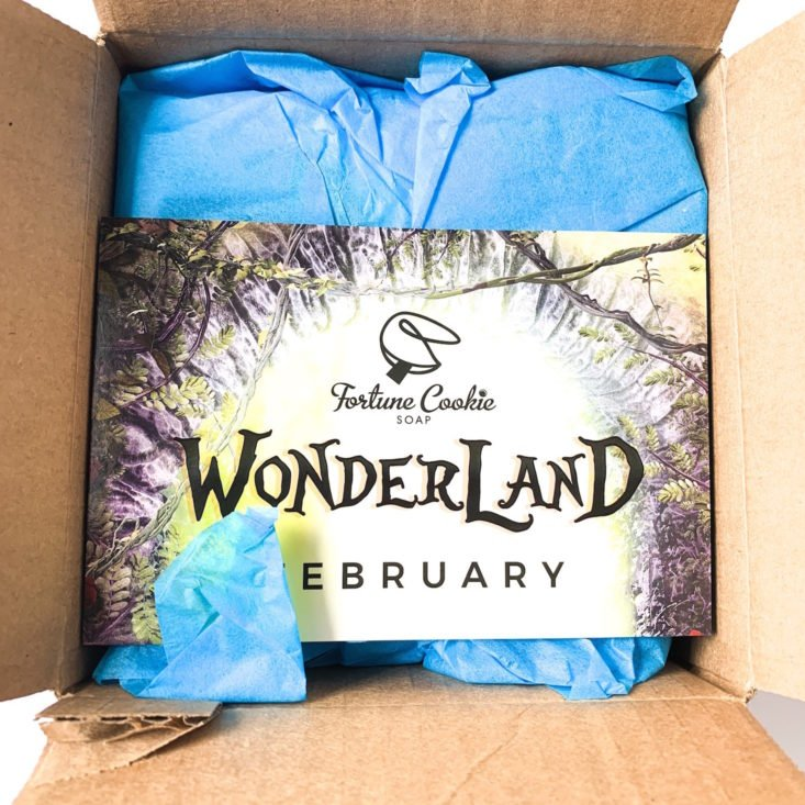 "Fortune Cookie Soap ""Wonderland"" February 2019 - Open Box"