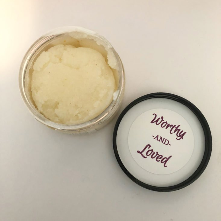Oxford Momma Box February 2019 - Seasons of Love Sugar Scrub Open Top