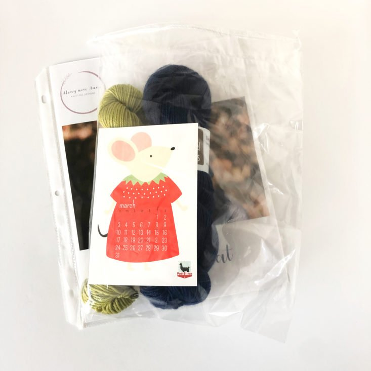 PostStitch Yarn March 2019 - Open Box