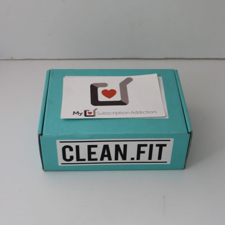 Clean Fit Box May 2019 - Box Review Top