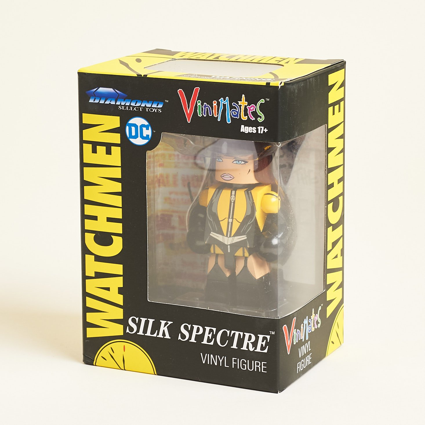 Zbox review May 2019 watchmen figure