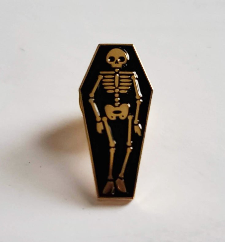 Creepy Crate Spring Death Becomes Us A True Crime Festival 2019 - Dead Like Us Pin 1 Top