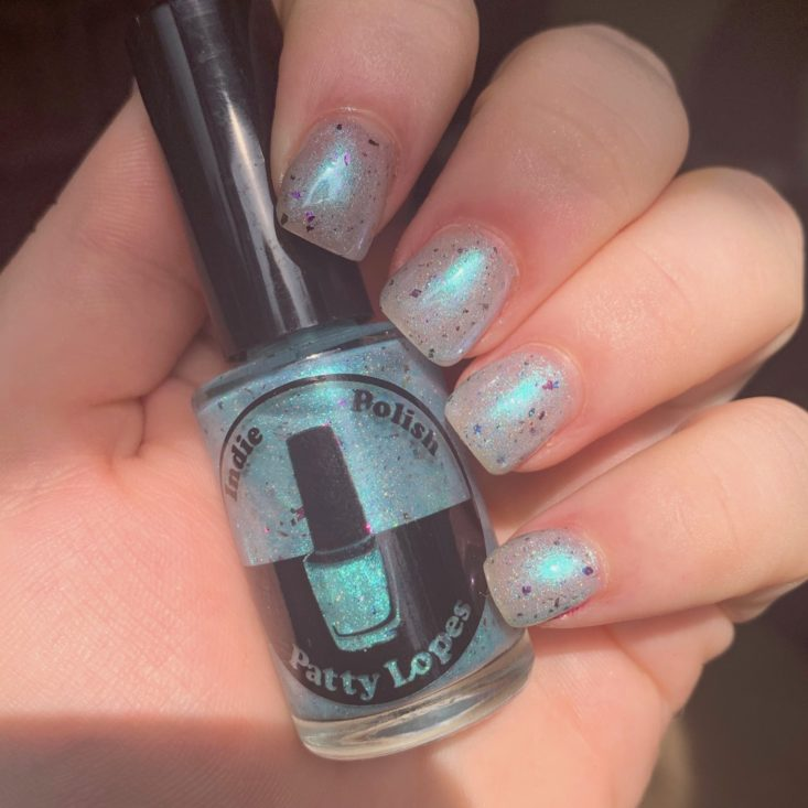 The Holo Hookup June 2019 - Indie by Patty Lopes In Giant Lily Pad In Hand 3