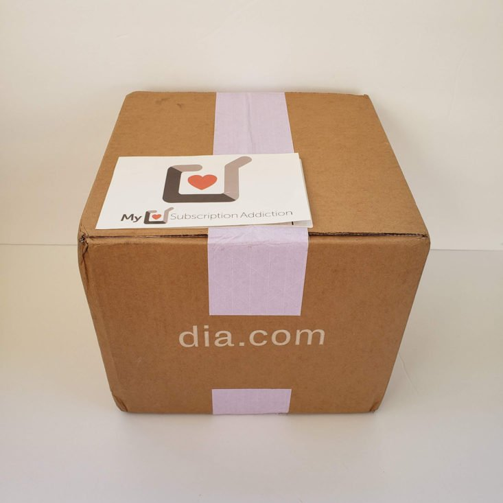 Dia and Co October 2019 Box- 0001