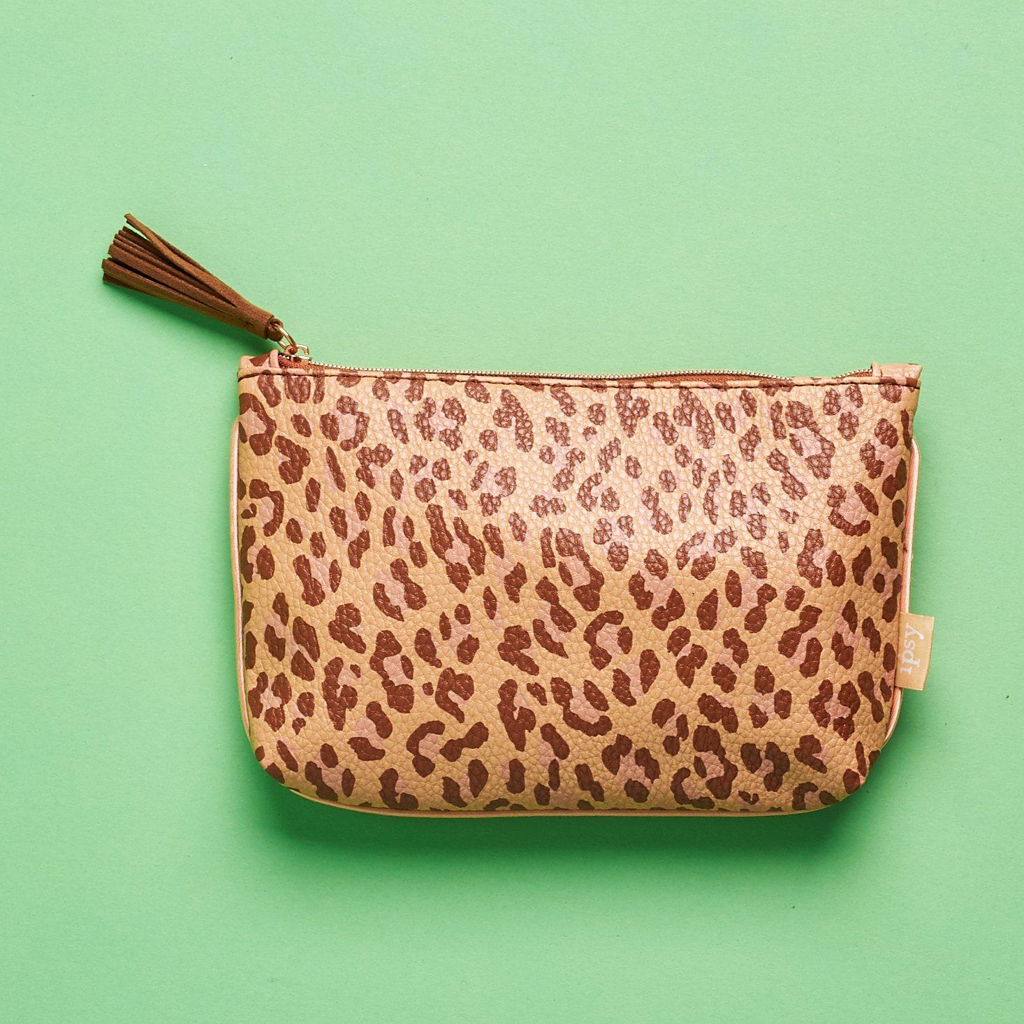 super cute leopard bag